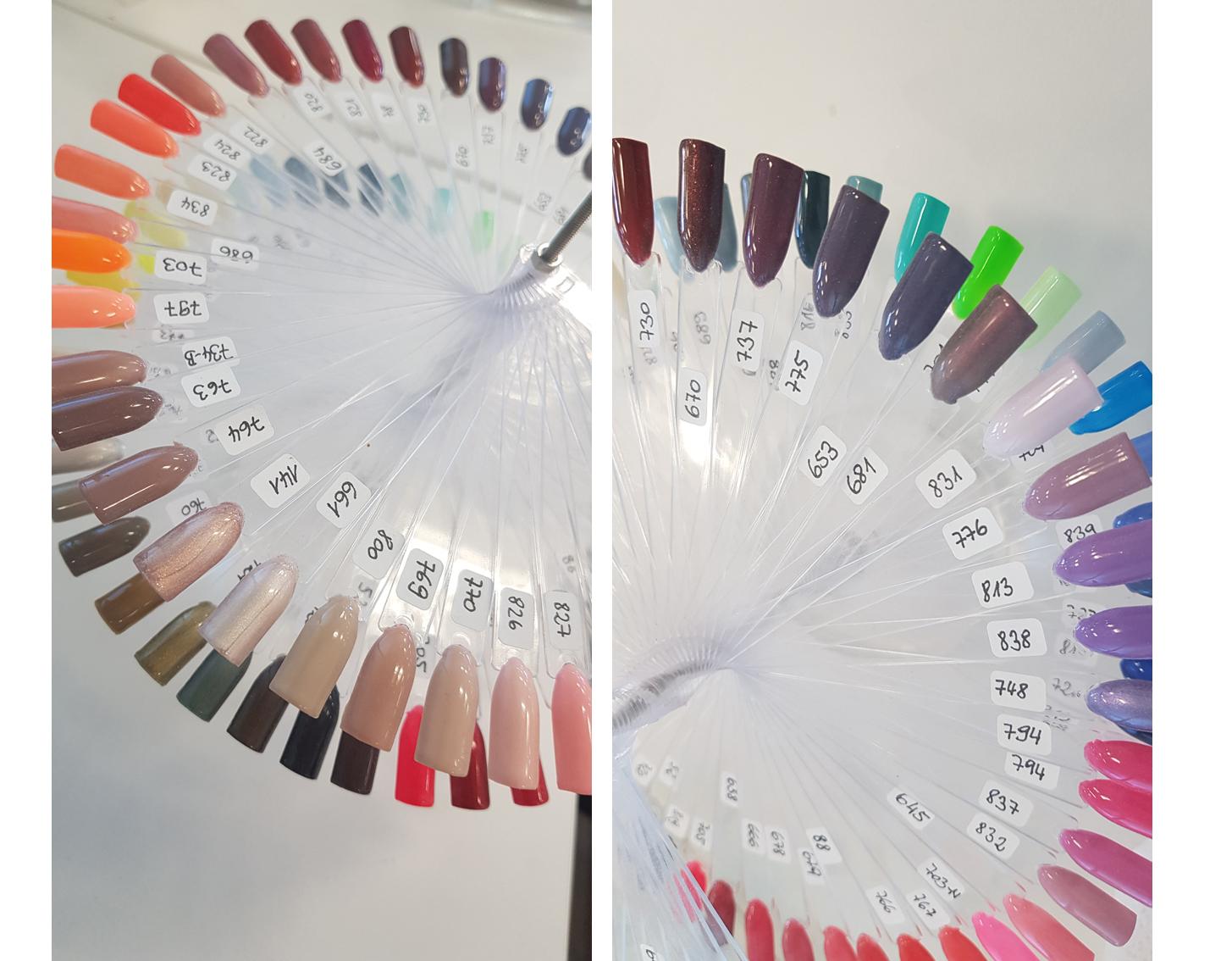 über 200 Farben zur Auswahl