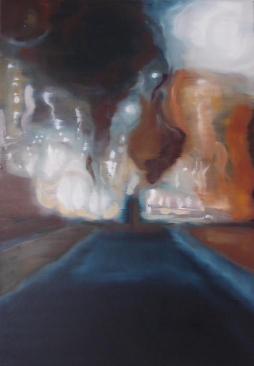 Durchgang, 2015, Öl auf LW., 120 x80 cm