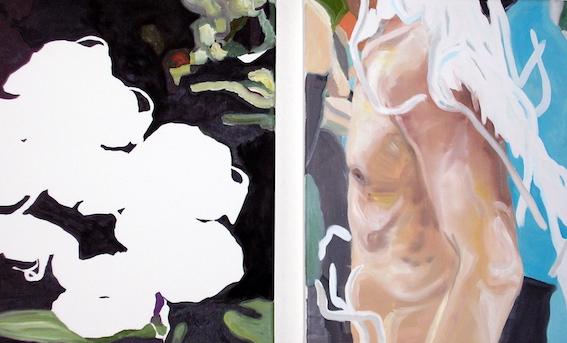 About Beauty, 2002, Öl auf LW., 80x60cm