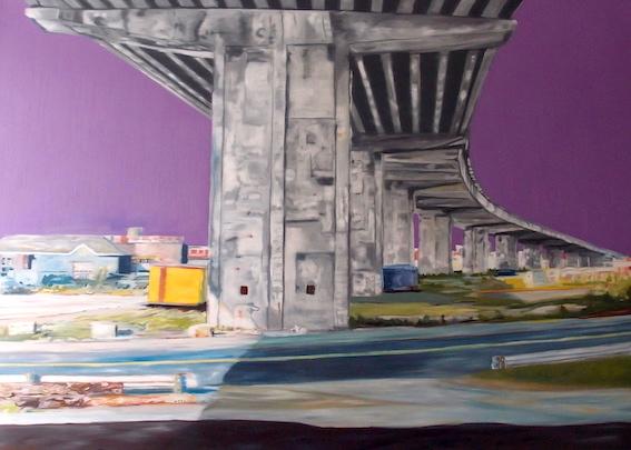 Canale de la Chine, 2004, Öl auf LW., 140 x170 cm