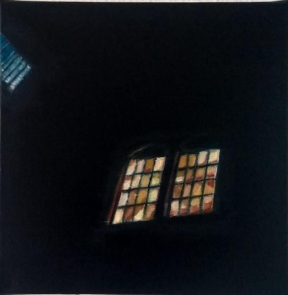Fenster, 2017, Öl auf LW., 30 x30cm