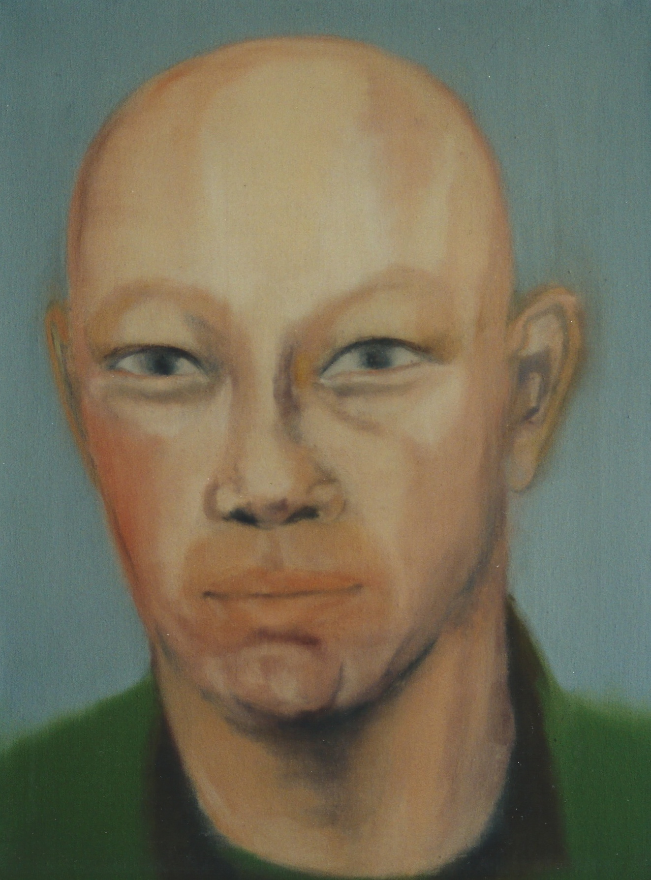 Japaner, 1998, Öl auf LW., 60 x45 cm
