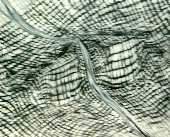 Ionenfeld, 2000, Öl auf LW, 40 x40 cm
