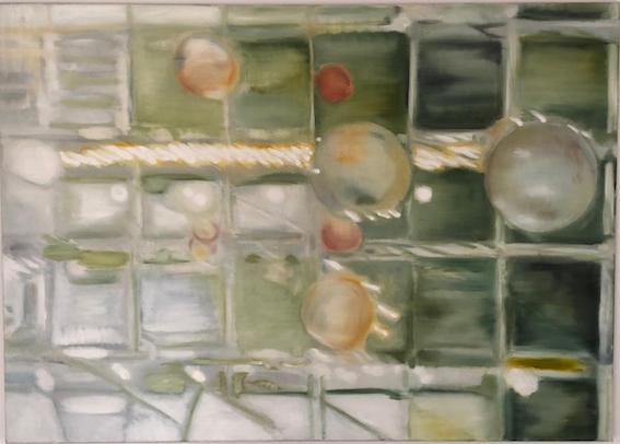 Arkaden, 2000,  Öl auf LW., 100 x 140 cm (Privatbesitz Berlin)
