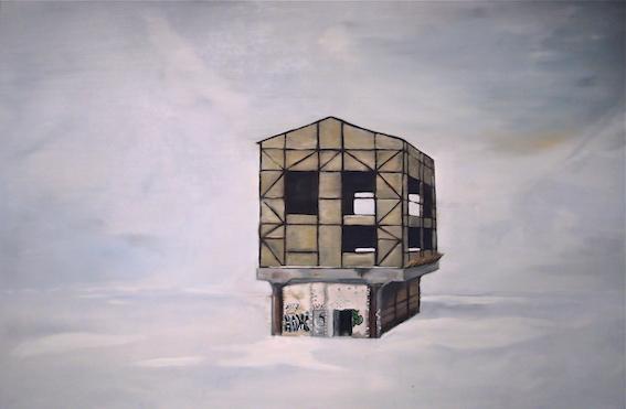 Home, 2013, Öl auf LW., 80 x 110 cm