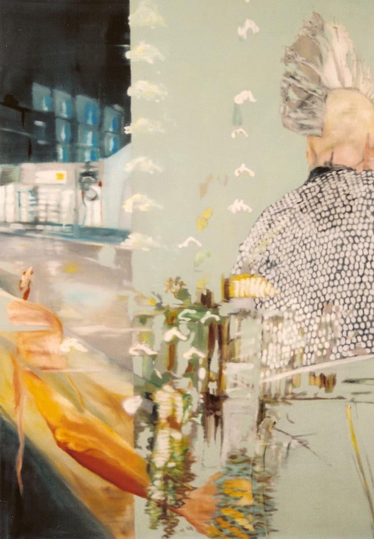 Zwielicht 2, 2001, Öl auf LW., 140x100 cm (Privatbesitz Berlin)
