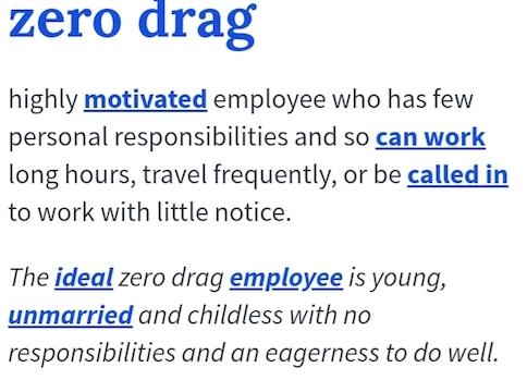Begriff: Zero Drag