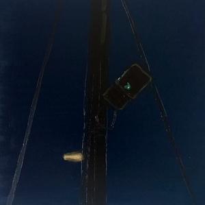 Straßenlicht, 2017, Öl auf LW., 30 x30cm,