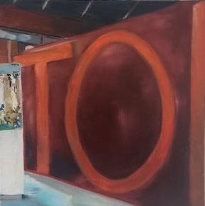 Toi, 2017, Öl auf LW., 30 x30 cm