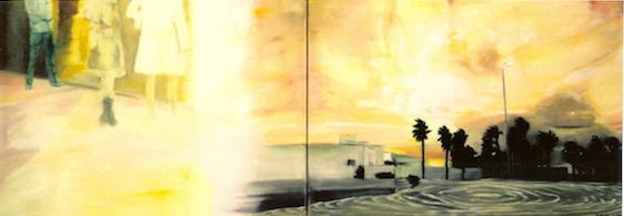 Enter, 2002, Öl auf Nessel, 60 x 160 cm (Privatbesitz Berlin)