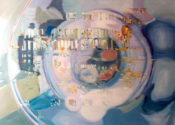 Liquid Room Nr. 17, 2011, Öl auf LW., 120 x 170 cm