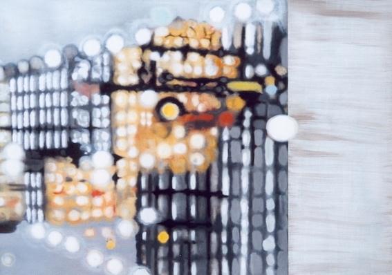 o. T. , 1999, Öl auf LW., 100 x 140 cm (Privatbesitz Berlin)
