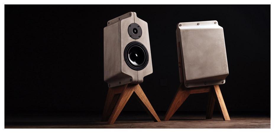 Unser neuer Lautsprecher aus Beton - für unverfälschten Soundgenuss