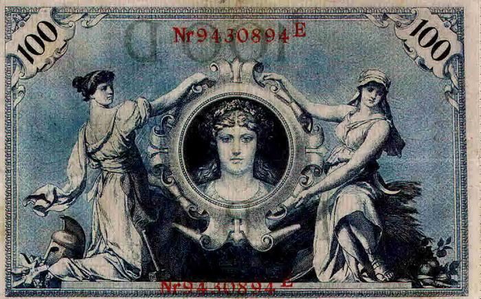 100 Mark Schein von 1908 [11]