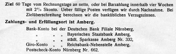 Zahlungsziele 1929