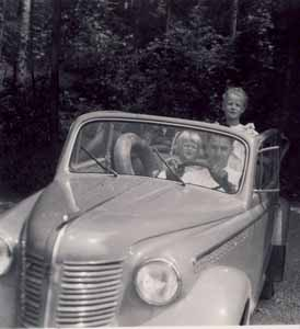 Erstes Firmenauto Opel Olympia