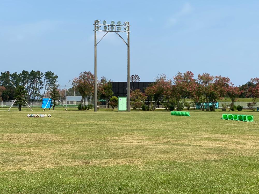 トレーニング会場 渚園グラウンド