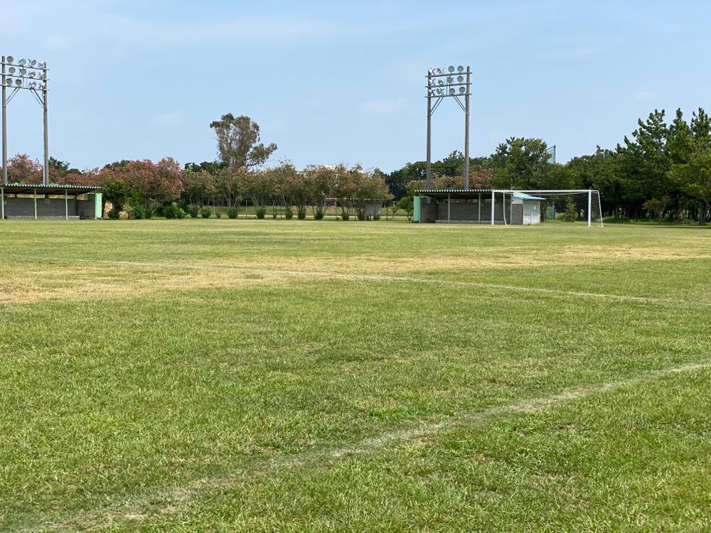 浜松フットボールアカデミーは固定の練習場を持っています