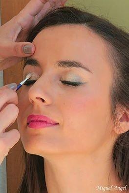 """Sesión de Maquillaje. Espectáculo """"Despertar"""" de la compañía de danza Sarasvatidanza"""