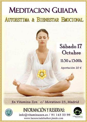 Meditación guiada, autoestima, bienestar emocional