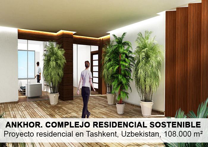 Bitarte Arquitectura+Interiorismo / Complejo residencial sostenible en Tashkent Uzbekistan / arquitectura bioclimatica/ www.bitartearquitectura.com
