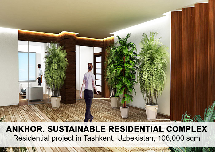 Bitarte Architecture+Interior design /Ankhor sustainable Residential Complex / bioclimatic architecture/ Residential project in Tashkent Uzbekistan / www.bitartearquitectura.com