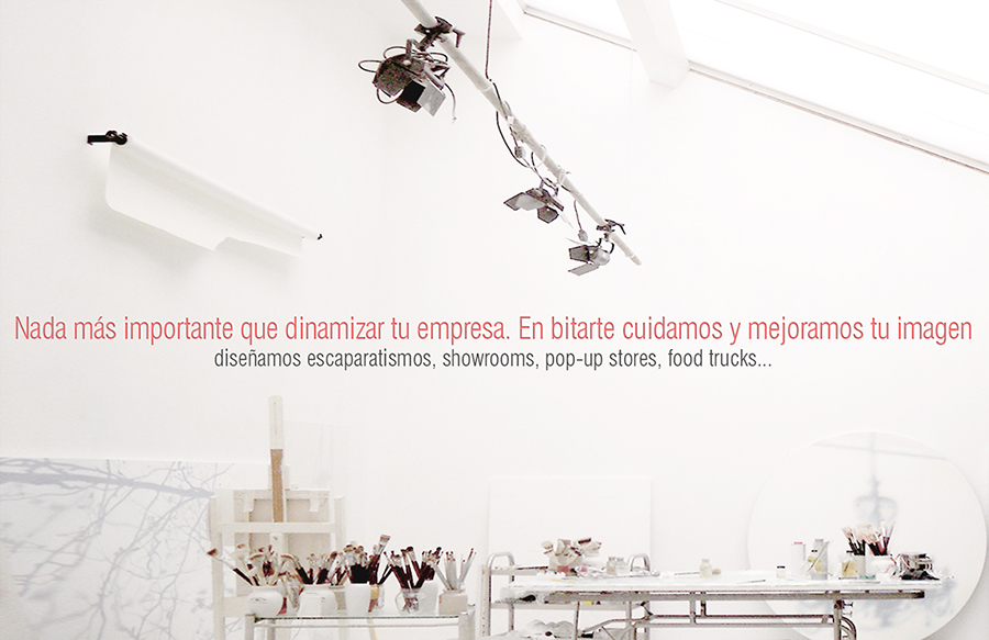 Bitarte Arquitectura + Comunicacion / servicios: escaparatismo + showroom / www.bitartearquitectura.com