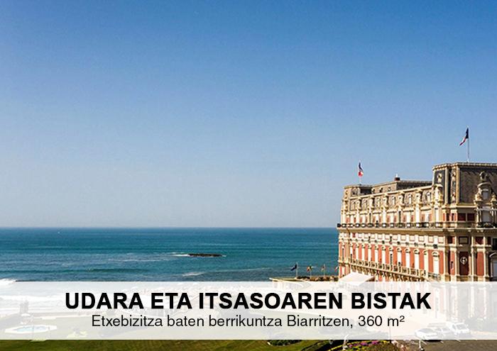 Bitarte Arkitektura+Interiorismoa / Etxebizitza baten berrikuntza Biarritzen / www.bitartearquitectura.com