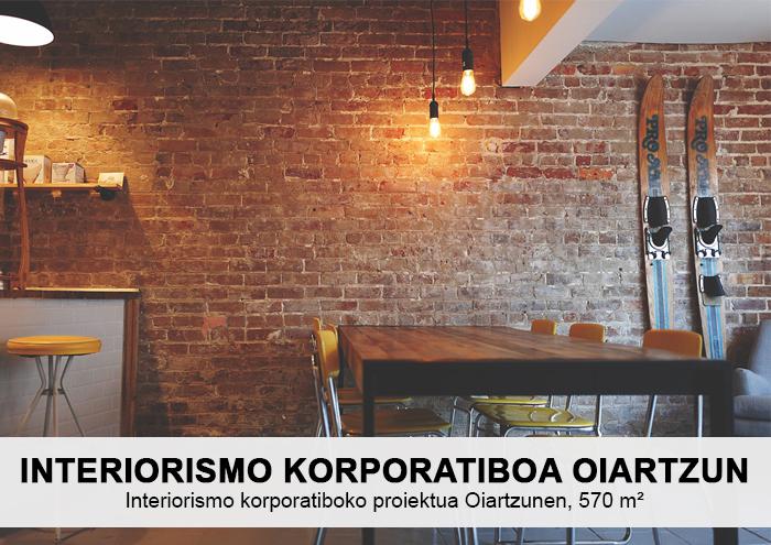 Bitarte Arkitektura+Interiorismoa / Interiorismo korporatiboa / Taberna-jatetxe baten interiorismo korporatiboko proiektua Oiartzunen / www.bitartearquitectura.com
