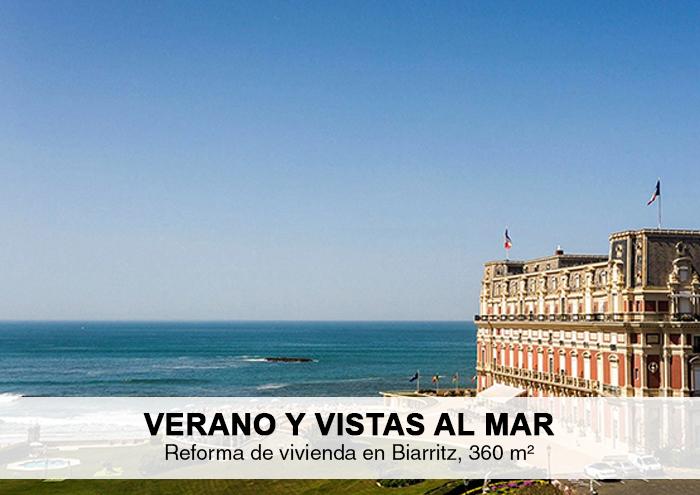 Bitarte Arquitectura+Interiorismo / Proyecto residencial en Biarritz / www.bitartearquitectura.com