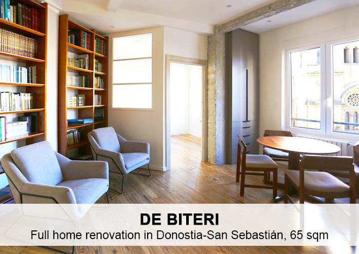 Bitarte Architecture+Interior design / Reforma de vivienda / Donostia / diseño / design / interiores /www.bitartearquitectura.com