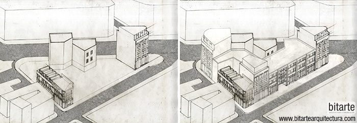 Bitarte Arquitectura+Comunicacion / ciudad y patios Work-Home / London Metropolitan University / architectural research / www.bitartearquitectura.com