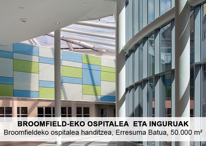 Bitarte Arkitektura+Interiorismoa / Broomfieldeko ospitalea handitzea / www.bitartearquitectura.com