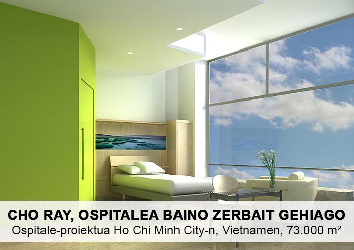 Bitarte Arkitektura+Interiorismoa / Ospitale-proiektua Ho Chi Minh City-n Vietnamen / www.bitartearquitectura.com