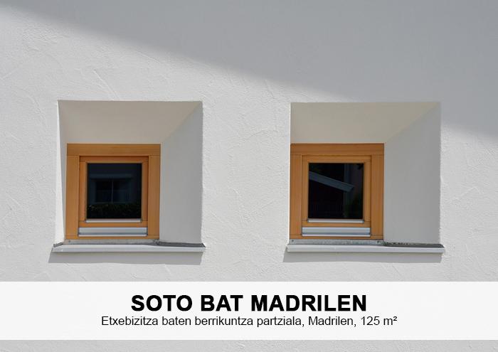 Bitarte Arkitektura+Interiorismoa / Etxebizitza baten berrikuntza partziala Madrilen / Sukaldea + Sotoa / www.bitartearquitectura.com