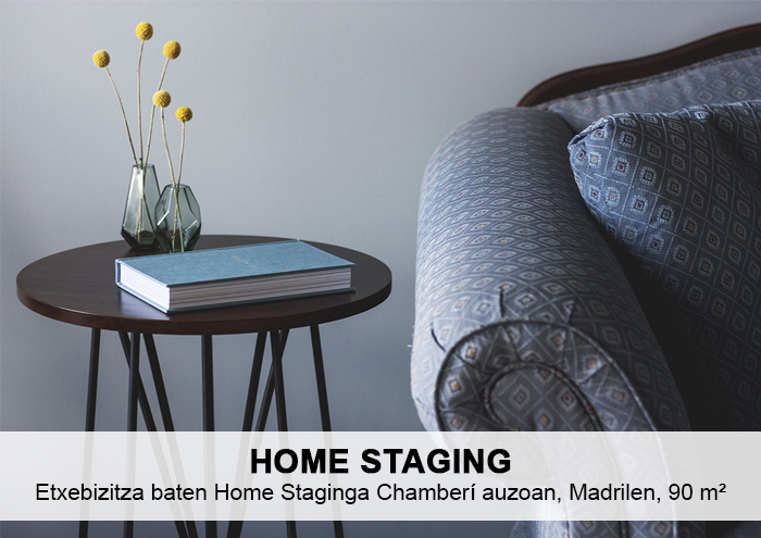 Bitarte Arkitektura+Interiorismoa / Etxebizitza baten berrikuntza Chamberí auzoan / Home Staging / www.bitartearquitectura.com