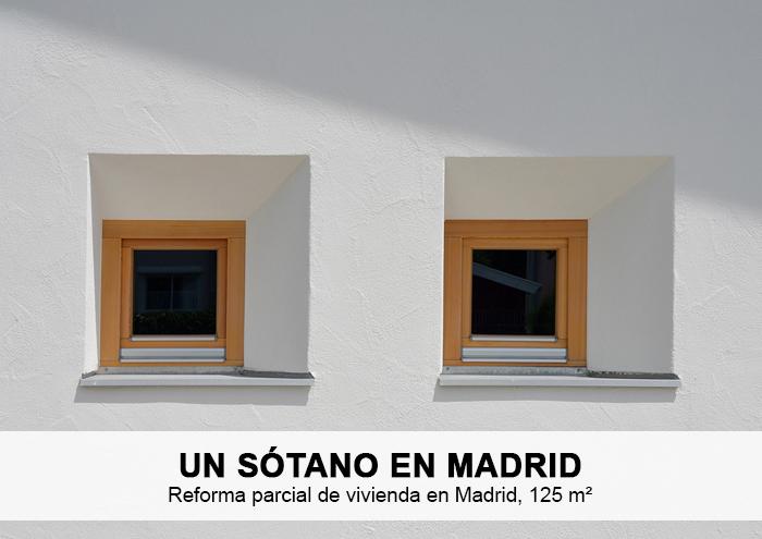 Bitarte Arquitectura+Interiorismo / Reforma parcial de vivienda en Vizconde de Uzqueta/ Reforma de sotano y cocina / www.bitartearquitectura.com