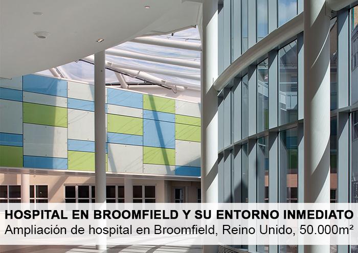 Bitarte Arquitectura+Interiorismo /Ampliación de hospital en Broomfield / www.bitartearquitectura.com