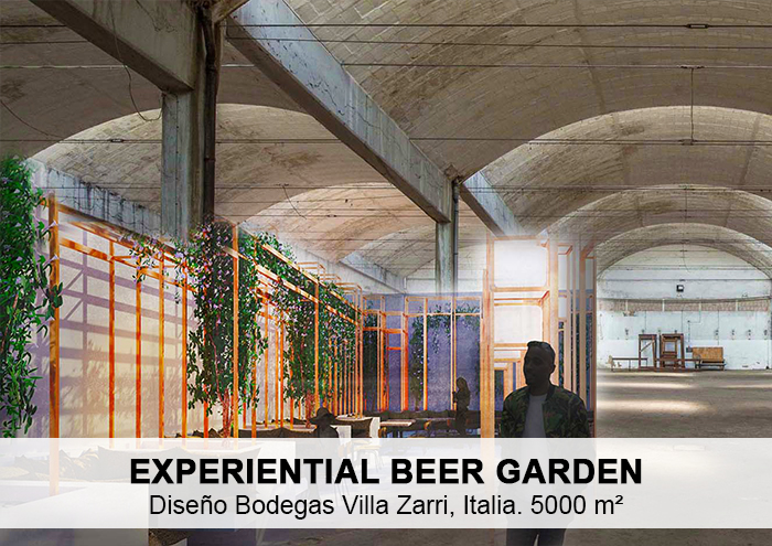 Bitarte Arquitectura+Interiorismo / diseño bodegas Villa Zarri / Bolonia / Italia / design / interiores /www.bitartearquitectura.com