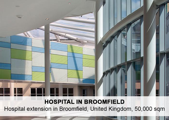 Bitarte Architecture+Interior design / Hospital extension in Broomfield / www.bitartearquitectura.com