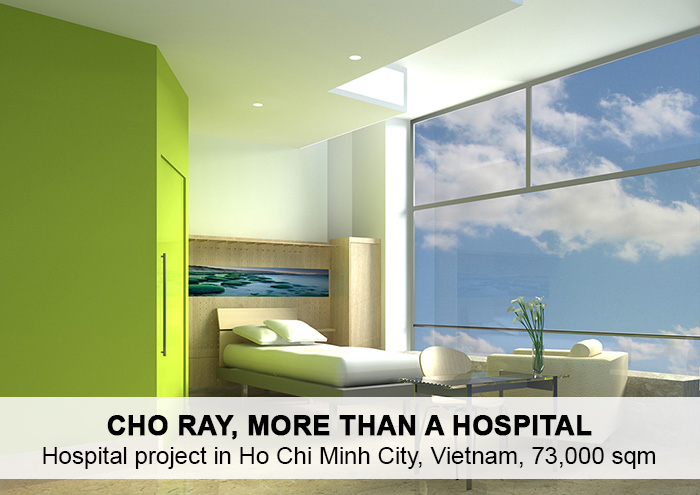 Bitarte Architecture+Interior design / Hospital project in Ho Chi Minh City / www.bitartearquitectura.com