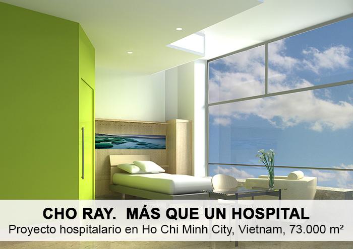 Bitarte Arquitectura+Interiorismo / Hospital en Ho Chi Minh Vietnam / www.bitartearquitectura.com