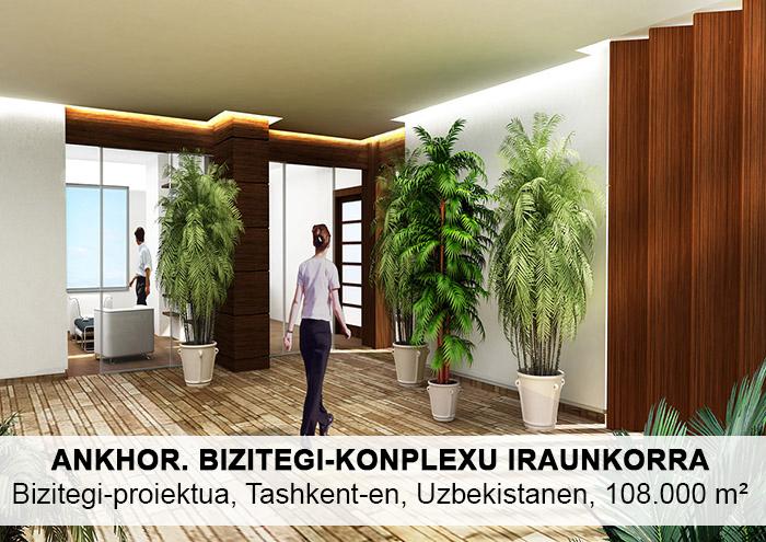 Bitarte Arkitektura+Interiorismoa / Bizitegi-konplexu iraunkorra Tashkent-en, Uzbekistanen / arkitektura bioklimatikoa/ www.bitartearquitectura.com
