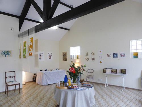exposition avec Fabienne Morane