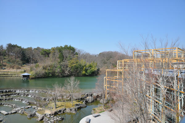 Vue du Keihanna Commemorative Park