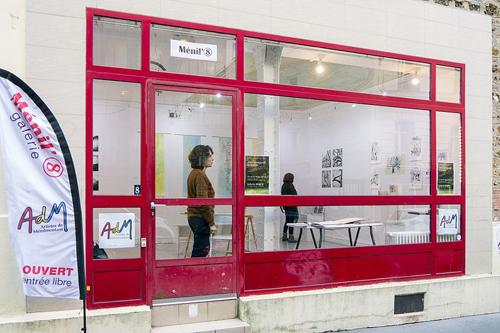 Galerie Ménil'8 - Paris 20e