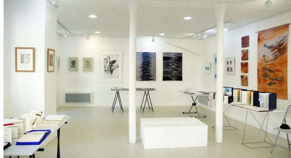 exposition des éditions Signum dans la galerie du Génie de la Bastille