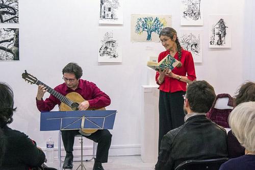 Poésie et musique avec Thierry Lèbre et Marianne Auricoste