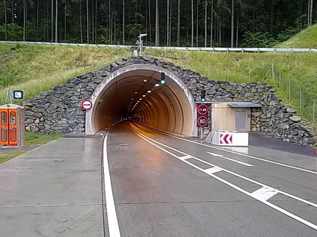 Amphibolit / Lilienberg Tunnel Völkermarkt