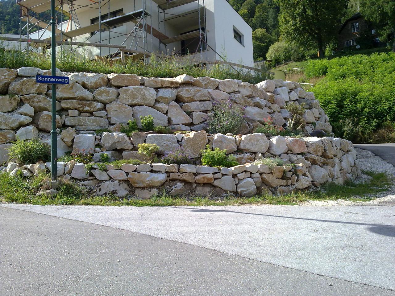 Marmor begrünt / Annenheim Ossiacher See